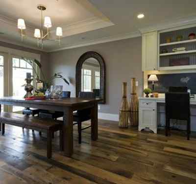 QUALITY FLOORING OR HOME REMODELING? Stone and fire place